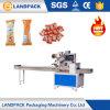 Macchina avvolgitrice professionale della barra di caramella del cioccolato/macchina per l'imballaggio delle merci di flusso