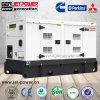 Hauptgebrauch 10 KVA 10 Kilowatt-beweglicher schalldichter Dieselgenerator