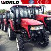 tractor met 4 wielen van het Landbouwbedrijf van de Koppeling van de Aandrijving de Dubbele 55HP (WD554)