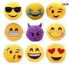 In het groot Pluche Emoji en het Gevulde Stuk speelgoed van het Jonge geitje voor PromotieGift