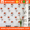 Papier peint à la maison gravé en relief intérieur de PVC 3D de décor imperméable à l'eau