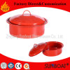 台所用品のエナメルの在庫の鍋スープ