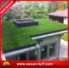 Cerca artificial do jardim da grama do monofilamento da haste para o jardim