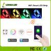 Indicatore luminoso di striscia impermeabile controllato di WiFi Smartphone RGBW LED