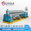 Máquina de rolamento hidráulica da placa do CNC, máquina de rolamento W11 simétrica com três rolos