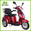 Rango de 50km sin escobillas de 500W discapacitados de 3 ruedas Moto