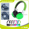 Rádio da alta qualidade e auscultadores estereofónicos de Bluetooth com rádio de FM e cartão do SD