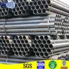 ERW soldadura de acero redondo tubo negro para la estructura de la maquinaria