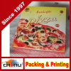 Boîte estampée par coutume à pizza de bonne qualité (1319)