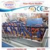 Máquina PP PE espiral vaina protectora del tubo PE Maquinaria en Espiral Banda Línea de producción espiral tubo de protección