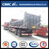 Caminhão de descarga de FAW/Dongfeng/HOWO/Liuqi/Shacman/Auman/Bei Ben/JAC 8*4 com Cimc a caixa da alta qualidade de Huajun