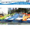 水公園のプラスチックスライド水おかしいゲーム(M11-04901)