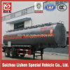 Doppio Axle 35000L Oil Tank Semi Trailer con Single Tire