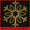 祝祭およびChristmas Decorations LED第2 Snowflake Motif Light