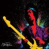 Hendrix-Vernice di Jimi, stampa del manifesto di musica, pollice 20*30