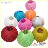 Party Decorationのためのぴかぴか光るRound Paper Lanterns