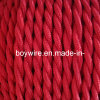 2-Conductor 18-Gauge Red Cotton Twisted Wire