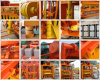 Le matériel appliquent la petite machine de fabrication de brique creuse concrète de l'usine Qtj4-40