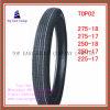 275-18, 275-17, 250-18, 250-17, 225-17 langer Nylonmotorrad-Reifen des Leben-6pr