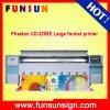 고속을%s 가진 기계를 인쇄하는 비닐 기치를 광고하는 쌍두 경 4륜 마차 Ud-3208e 3.2m 큰 체재 용해력이 있는 인쇄 기계
