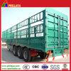 대량 상품 수송 세 배 차축 거위 목 모양의 관 화물 트럭 트레일러