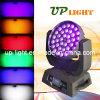 2015 36*18W RGBWA UV 6in1 LED 세척 이동하는 헤드