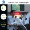 15W 20W im Freien integrierte Solarstraße angeschaltene Wärme-Lampe