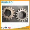 Engranajes materiales de acero de los engranajes C45 altos HRC de la calidad