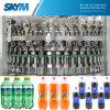 Máquina de enchimento Carbonated automática personalizada da água de soda da planta dos refrescos