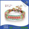 Изготовленный на заказ дешевый браслет празднества/сплетенные тканью Wristbands для случая