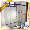 Portello scorrevole di vetro della stanza da bagno di vetro Tempered
