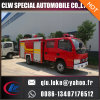 4 * 2 caminhão de combate a incêndio de espuma de tanque de água