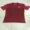 安いカスタマイズされた昇華人のしまのあるフットボールのワイシャツのサッカージャージー