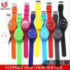 Il braccialetto poco costoso della vigilanza unisex promozionale all'ingrosso del silicone Yxl-354 2017 mette in mostra l'orologio del regalo dei capretti