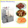 Aço inoxidável carne Automática Fumar House a máquina de frango, carne de porco