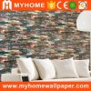 Natural Material 3D de ladrillos de bambú del papel pintado para Interior de la casa