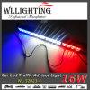 barra de 18 '' del tráfico 16LED del consejero luces del estroboscópico