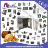 빵 굽기를 위한 빵집 장비 가스 디젤 엔진 전기 회전하는 선반 오븐