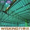 El fabricante enmarca directo la estructura de acero de acero del estacionamiento de la fabricación