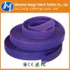 Фиолетовый Dacron гриб крюк и петлю кабеля