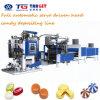 Preiswerte und fein gekochte doppelte Farben-harte Süßigkeit, die Maschine herstellt