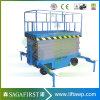Usine d'alimentation électrique de relevage hydraulique mobile table élévatrice à ciseaux