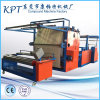 Fabric non tessuto, sottopiedi, EVA, SBR, Foam, Straw Mat, Cloth e Plastic Film Lamination Machine Production Line