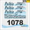 Numeri su ordinazione di maratona di Tyvek (BN)