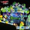 El parque de diversiones al aire libre Gran decoración Linterna Linterna Tema Zigong