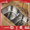 20-1/2 acier inoxydable  X34  sous le bassin de cuisine de cuvette de double de support avec Cupc reconnu