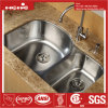 Le bassin de cuisine d'acier inoxydable, acier inoxydable sous le bassin de cuisine de cuvette de double de support avec Cupc a reconnu