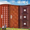 Portello d'acciaio del ferro di obbligazione esterna/portello del metallo entrata principale