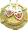 De maat Medaille van de Trofee met tweede-3D Embleem (m-Mm19)