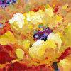 Het Met de hand gemaakte Bloemen Schilderen van Mordern (FP10010B)